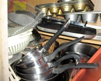 Pots Pans Bake Ware