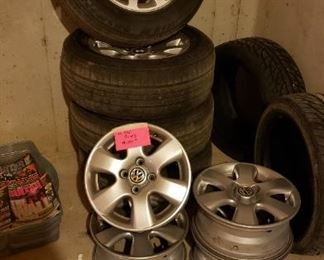 BMW and VW rims and tires