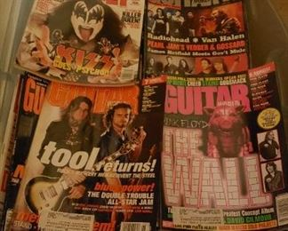 1980s guitar world mags