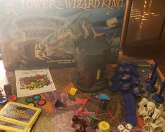 tower of the wizard board game