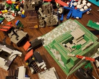 Legos from the early 80s