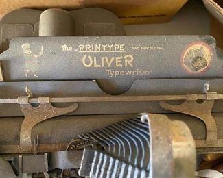 The Printype Oliver typewriter