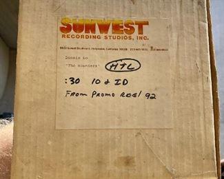 SunWest recording studio
