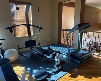 workout equipement