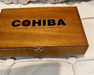 Hand Made Cigar Box  10.00