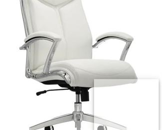 High Back Chair White Office Depot