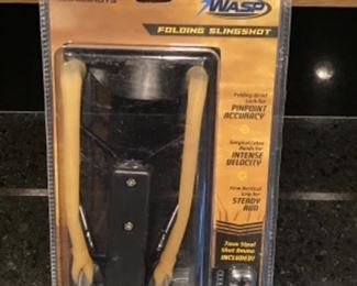 Bolt, The Wasp, folding slingshot new in box