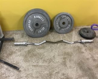 Barbell weights and bars