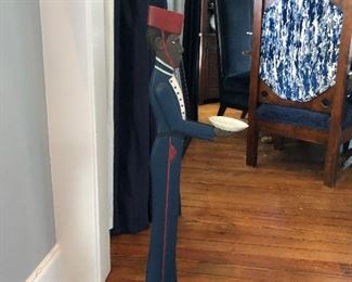 Standing butler tray