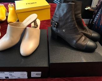 Chanel shoes size 10-1/2 and 11