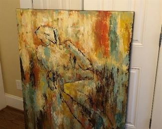 Large woman figures Giclee
