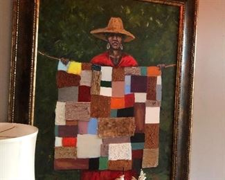 This old quilt by Ted Ellis Original