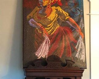 original acrylic painting  by Bola Mudashiru
