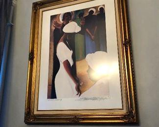 Sharons Blessing by Bernard Hoyes Signed Print