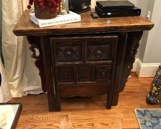 Chinese mystery desk. We have a pair