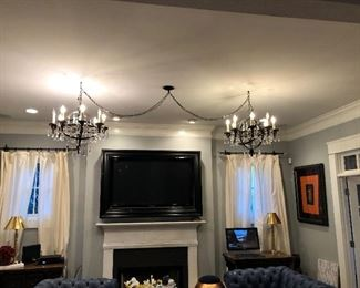 double hung Chandelier is for sale