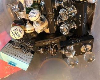 box of crystal door knobs