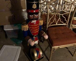 drummer need a little repair. There is aaaaalllloootttt of Christmas decorations.