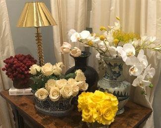Artificial floral arragnents