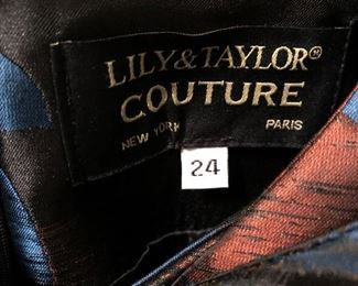 Lily and Taylor couture