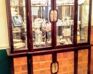 Matchinf China Cabinet or Bookcase