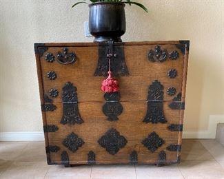 Antique Korean chest