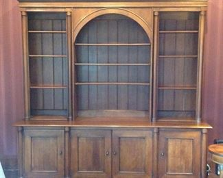 Hendredon 2 piece media/book cabinet.