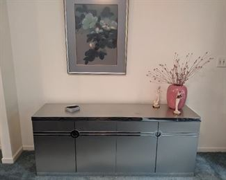 Pierre Cardin stainless steel buffet