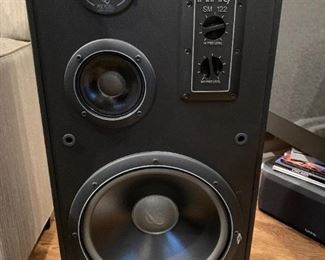 Pair of Infinity Speakers. Details and pricing will be available on November 19th after 6 p.m. at https://shop.mlestatesales.com