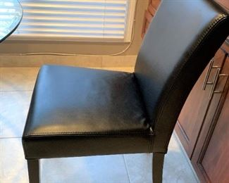 Crate and Barrel chair. Details and pricing will be available on November 19th after 6 p.m. at https://shop.mlestatesales.com