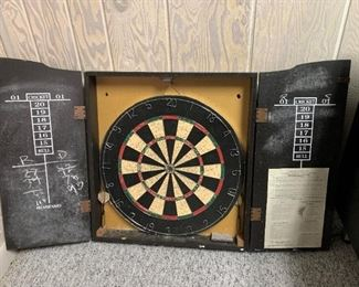 Cheers Dart Board. Details and pricing will be available on November 19th after 6 p.m. at https://shop.mlestatesales.com