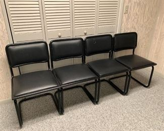 Lot of 4 chairs. Details and pricing will be available on November 19th after 6 p.m. at https://shop.mlestatesales.com