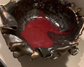 Studio art pottery bowl. Details and pricing will be available on November 19th after 6 p.m. at https://shop.mlestatesales.com