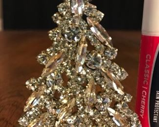 """Clear and sparkly.  2.5""""  tall. $65"""