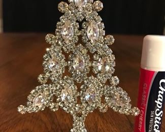 """Clear and sparkly. 4"""" tall.  $95"""