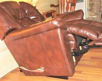 Leather Look Recliner