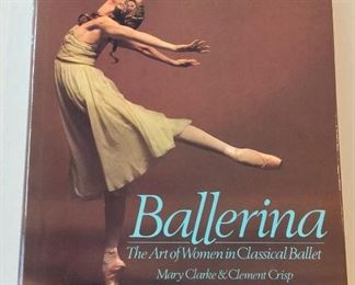 Ballerina: The Art of Woman in Classical Ballet, Mary Clarke and Clement Crisp, Princeton Book Company, 1988 First U. S. Edition. ISBN 0916622711.