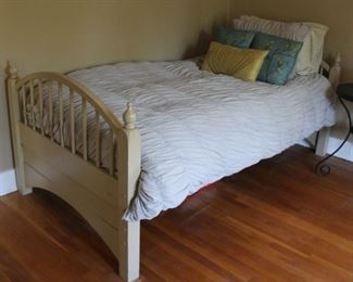 """#40.  $50.00.   Twin Bed 33""""h X 41.75""""w"""
