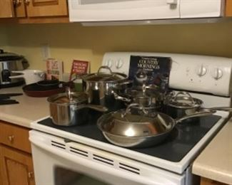 New pots & Pans cookware
