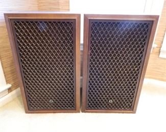 Set of Sansui Speakers SP-200 - wood grills  $225