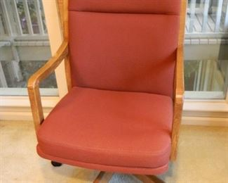 Smaller, heavy office chair - $60