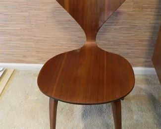 Awesome Mid-Century Plyxcraft Norman Cherner Side Chair - AS IS  $200