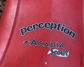 One Perception Acadia Scout kayak