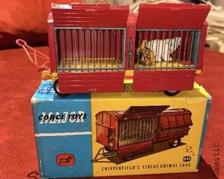 Corgi Toys Chipperfields Circus Animal Cage