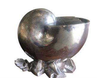 Mappin & Webb Nautilus Shell Spoon Warmer