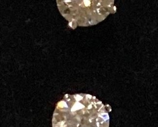 3 Carat Diamond Studs