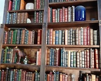 Easton Press books about 200 books sold by set only $3,500. for the lot of Easton Press books