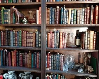 Sold as one lot.  $3,500. Easton Press Books
