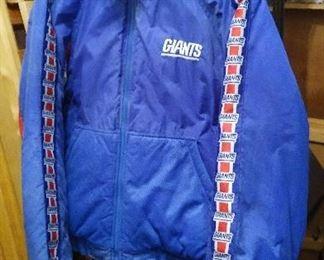 N.Y. Giants Jacket, (read New Jersey Giants!).