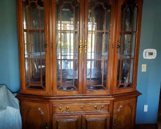 Lexington dinning room china cabinet